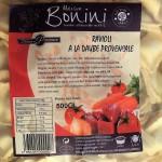 Ravioli à la viande et aux légumes