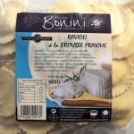 Ravioli à la Brousse fraîche