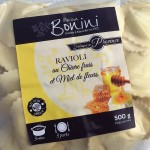 Ravioli au Chèvre frais et Miel de Fleurs