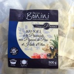 Ravioli provençal aux pignons de pins et huile d'olive